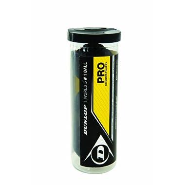 Dunlop Sports Pro XX Squash 3 Ball Tube