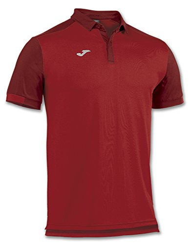 Joma Comfort M/C, Polo Mixte Adulte M Rouge (600)
