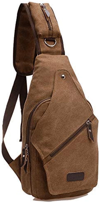 Chest Bag Home Mnner Casual Leinwand Brusttasche Multifunktions Outdoor Sports Crossbody Tasche Mode Schulter Messenger Rucksack
