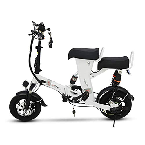 LHSUNTA Bici elettriche Uomini 350w Bici elettriche Pieghevoli per Adulti 48V 15A E-Bike per Adulti Donne Città velocità Massima della Bicicletta 25 km/h