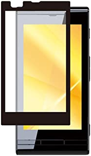 iBUFFALO au Windows Phone IS12T 気泡レス 液晶保護フィルムイージーフィット/反射防止ブラック BSEFIS12TBK