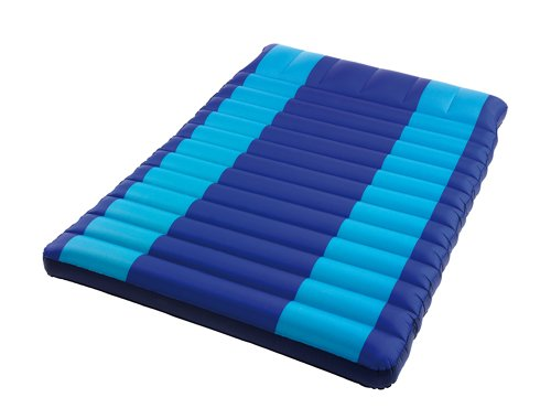 Happy People dubbele matras, blauw, 200x130x8, 78048