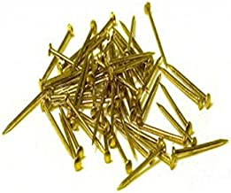 Model Expo Nails, Brass .028 X 5/16 (.7X8MM) #MS0940B 1500 Per Pack by for Model Ship Building - ON SALE!