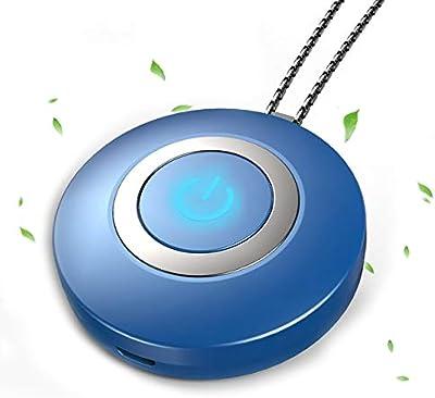 removedor de bacterias de humo recargable por USB collar purificador de aire personal generador de iones negativos de bajo ruido purificador i/ónico ionizador Purificador de aire port/átil