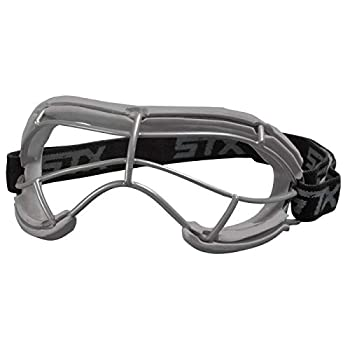 STX Lacrosse 4Sight+ S Youth Goggle Silicone,Grey