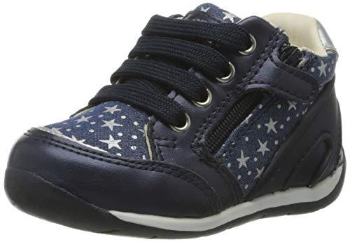 Geox Baby Mädchen B Each Girl C Sneaker, Blau (Avio C4005), 20 EU