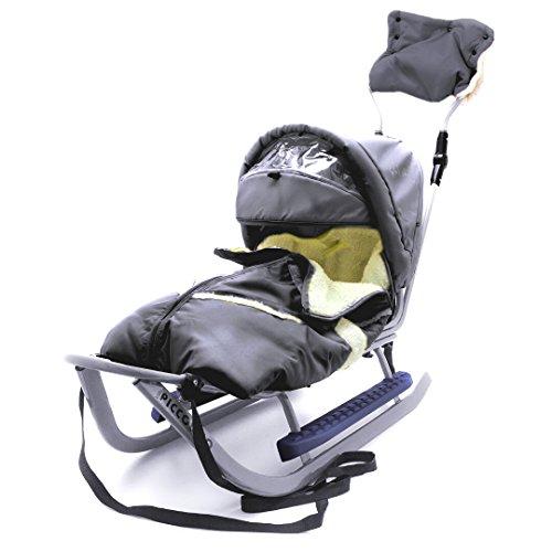 Babyschlitten Piccolino Komfort (Grafit)