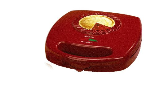 Sunbeam FPSBPMM980 4-Piece Pie Maker, Red