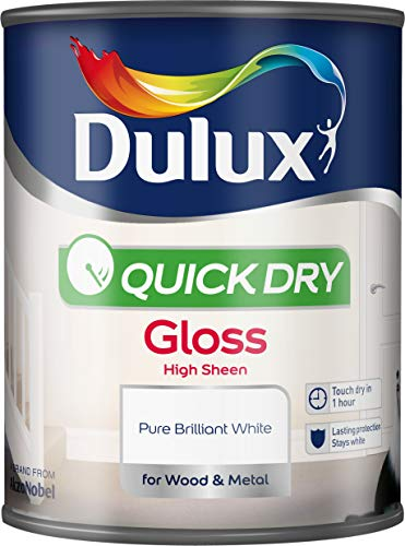 Dulux Quick Dry Gloss Paint For Wood And Metal - Pure...
