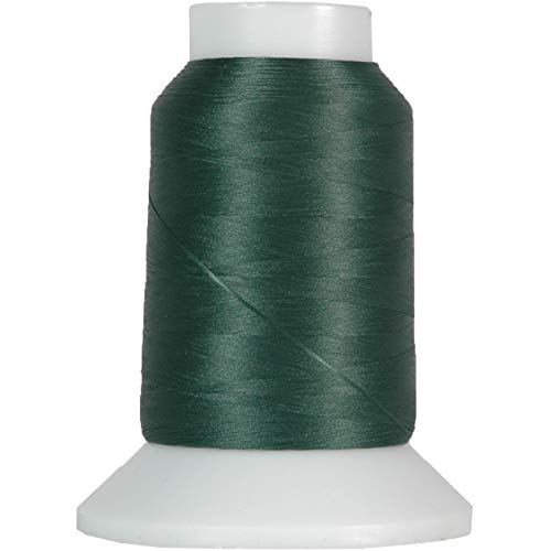 Threadart Wooly Nylon Thread - 1000m Spools - Color 9159 - PINE GREEN - Serger Sewing Stretchy Thread - 50 Colors Available