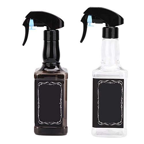 500 ml Plastiksprühflasche für Haare, botellas de spray de
