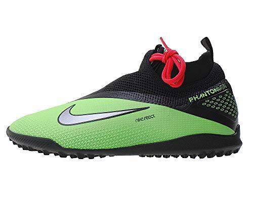 Nike Herren Fußballschuh React Phantom Vision 2 Pro Df Tf synthetische Beläge, Farbe:Grün, Größe:EUR 39