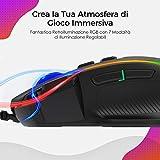 Zoom IMG-2 pictek mouse gaming rgb ergonomico