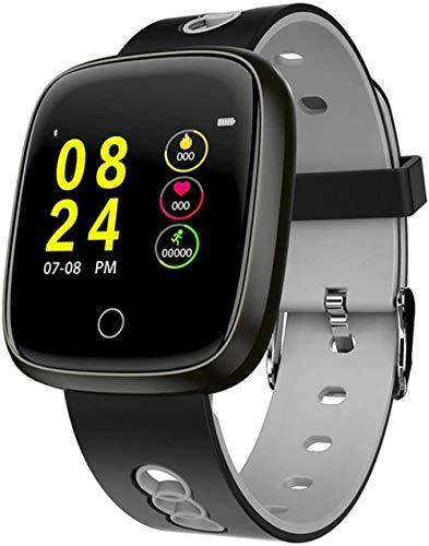 JSL Relojes inteligentes para hombres y mujeres 1 pantalla táctil completa reloj inteligente IP67 podómetro impermeable con recordatorio