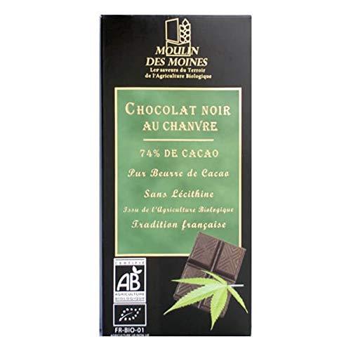 CHOCOLAT NOIR AU CHANVRE 100G