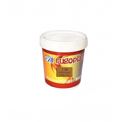 Pintura plástica mate blanca económica T-100 para paredes de interior (0,750 L) Envío GRATIS 24 h.