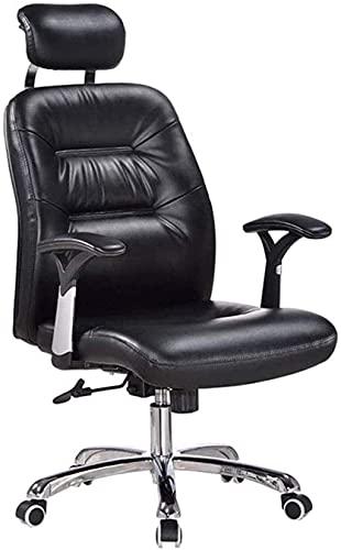 BeingHD Qualitätsbürostuhl, Bürostuhl mit Armlehne Boss-Stuhl, lederer High-Rücken mit hoher Rücken großer Sitzmassage Executive Stuhl Drehstuhl Gaming Chair