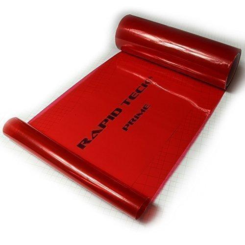 Rapid Teck 3D Flex Koplampfolie, autofolie, mistlampen, autofolie, getinte folie, €20/m Rot 500cm x 30cm rood