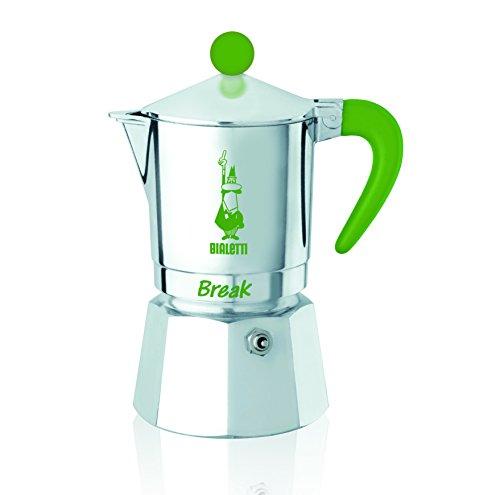 Bialetti 5942 Cafetière espresso Break 3 Tasses, Aluminium
