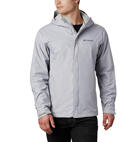 Columbia Men's Watertight II Waterproof, Breathable Rain Jacket, Grey, Medium