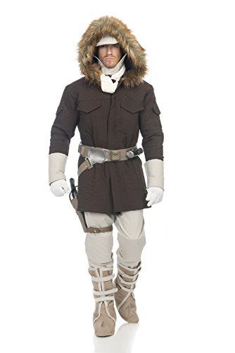 Star Wars Hoth Han Solo Adult Costume, Medium, Brown