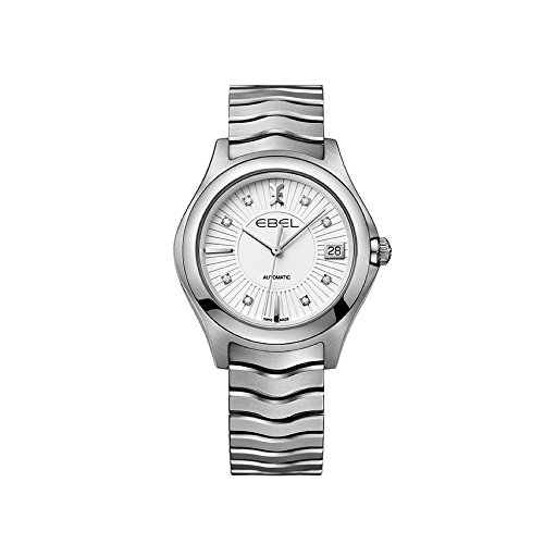 Ebel Damen Datum klassisch Automatik Uhr mit Edelstahl Armband 1216321