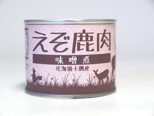 ご当地缶詰 北海道十勝産 狩人の蔵 えぞ鹿肉 味噌煮 (缶詰)
