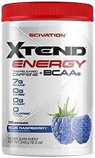 【海外直送品】Scivation Xtend Energy BCAA 30杯分 (ブルーラズベリー)