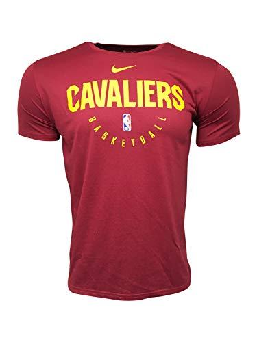 Nike Cleveland Cavaliers NBA Dri-Fit - Camiseta para hombre - Rojo - X-Large