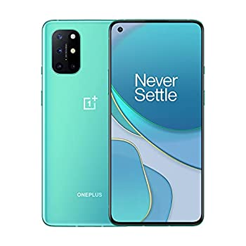 OnePlus 8T   5G Unlocked Android Smartphone   A Day's Power in 15 Minutes   Ultra Smooth 120Hz Display   48MP Quad Camera   256GB Aquamarine Green   U.S Version