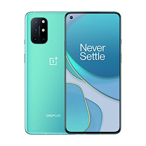 OnePlus 8T | 5G Unlocked Android Smartphone | A Day's Power in 15 Minutes | Ultra Smooth 120Hz Display | 48MP Quad Camera | 256GB, Aquamarine Green | U.S. Version