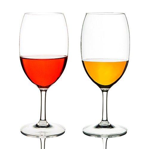 Michley Onbreekbaar Tritan-kunststof wijnglas, rode wijn drinkglas, glazen voor camping party, BPA-vrij, 570 ml plastic mok