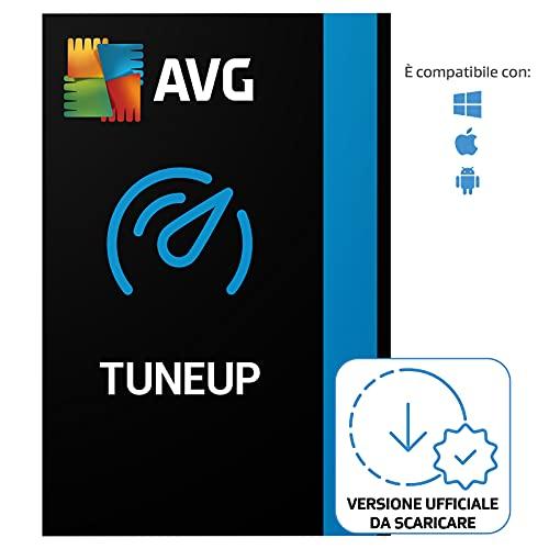 AVG TuneUp - Rimuove i file spazzatura e velocizza il tuo sistema | 10 Dispositivo | 1 Anno | PC/Mac | Codice d'attivazione via email
