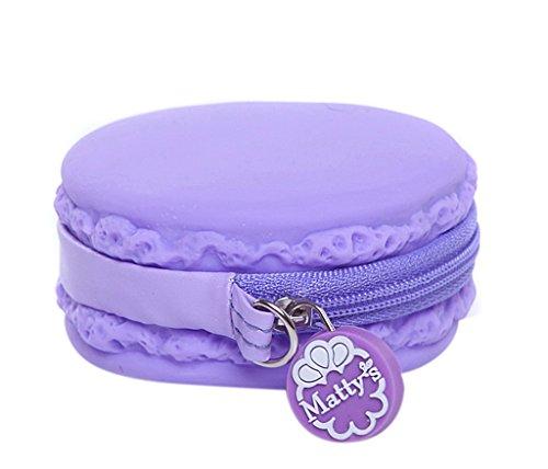 EOZY-Portamonete Rotondo Donna Colori Candy Forma di Dolce