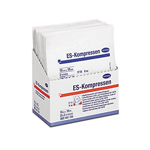 ES-Kompressen steril, 8fach, 10 x 10 cm