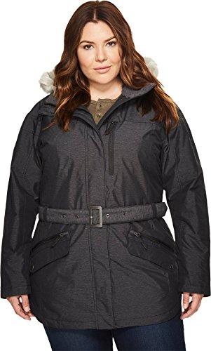 Columbia Jacket Chaqueta Carson Pass II, Mujer, Negro, 2X