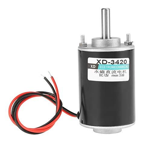 Motore a corrente continua a magneti permanenti, motore elettrico a magneti permanenti CW/CCW Strumento elettrico per dispositivi intelligenti(12V3000 giri)
