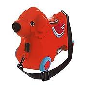 BIG – Bobby-Trolley – Kinderkoffer und Spielzeug 2 in 1, mit verstellbarem Gurt, Kindergepäck mit breiten Rädern, als…