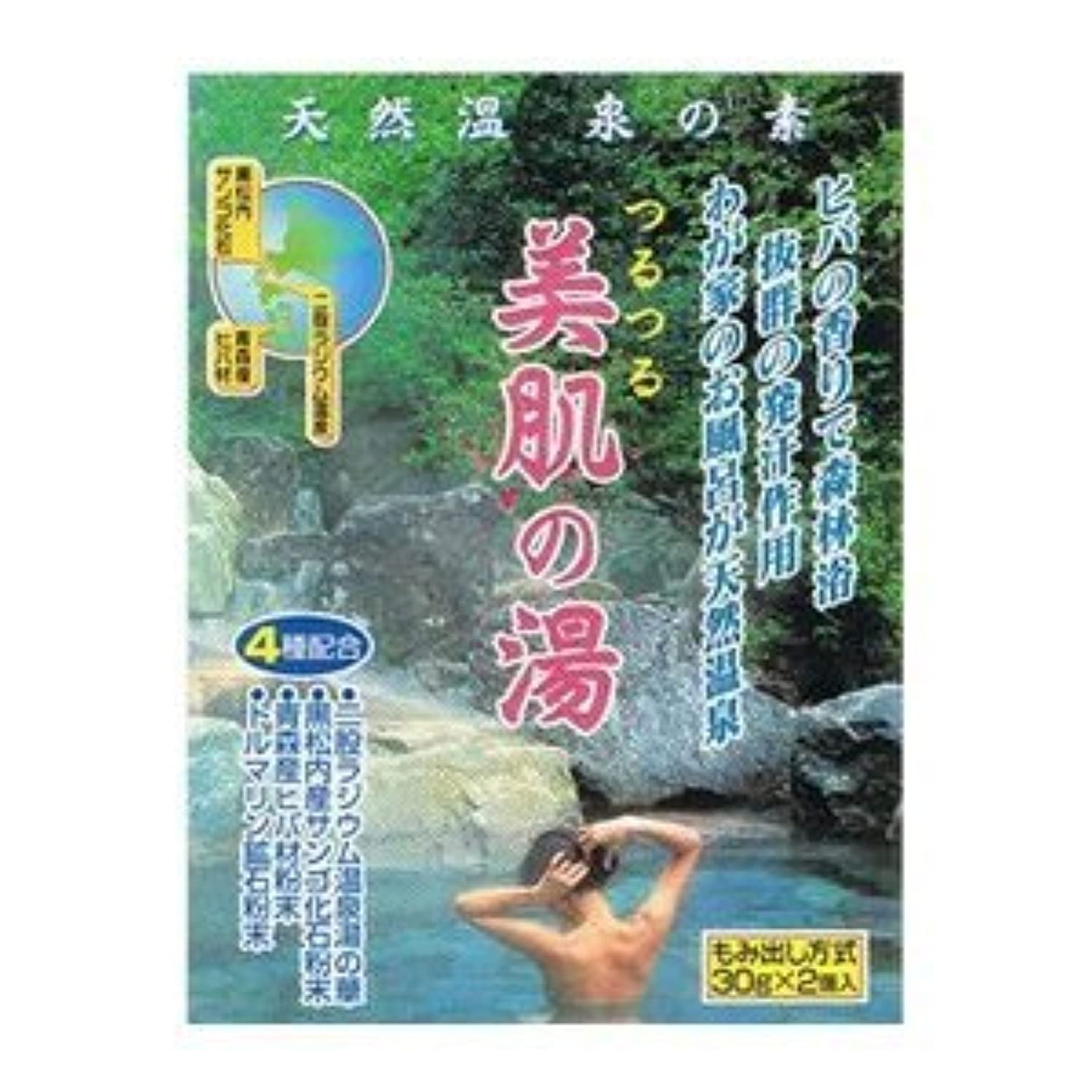 増強教えて間違えた天然温泉の素 美肌の湯 (30g×2個入)×12袋セット
