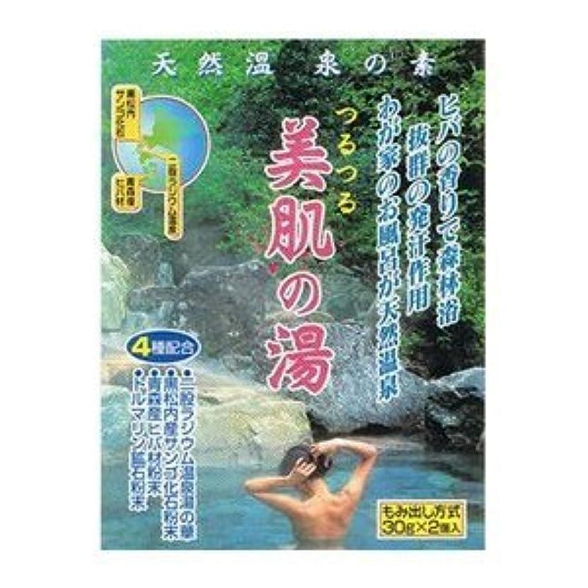 自明縮れた登録する天然温泉の素 美肌の湯 (30g×2個入)×3袋セット