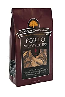 Charcoal Companion CC6061 Port Soaked Wood Chips, 88.5 Cubic Inch (B00U1GIEMY) | Amazon price tracker / tracking, Amazon price history charts, Amazon price watches, Amazon price drop alerts