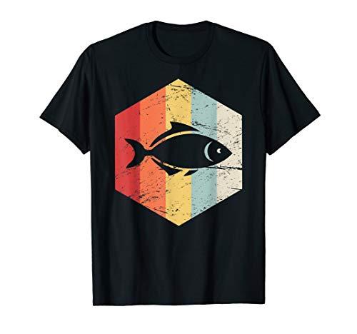 Retro Vintage Pet Fisch Aquarium T-Shirt
