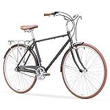 sixthreezero Ride In The Park Men's 3-Speed Touring City Bike, 700x32c Wheels/ 18' Frame, Grey,...