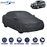 Kingsway Dust Proof Car Body Cover with Mirror Pockets for Maruti Suzuki Alto K10 (Model Year : 2014 Onwards) (Grey Matty, Triple Stitched)