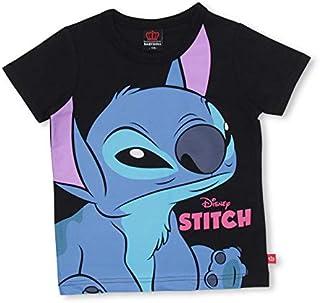 BABYDOLL(ベビードール)通販限定カラーあり 親子お揃い ディズニー BIGフェイスTシャツ 3740K 130cm スティッチ