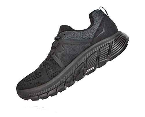 HOKA ONE ONE Women's Gaviota 2 Running Shoes, Black/Dark Shadow, 9 US