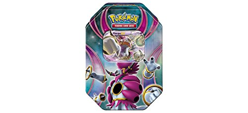 Pokemon TCG: Best of EX Collector's Tin Containing 4 Booster Packs and Featuring A Foil Hoopa-EX