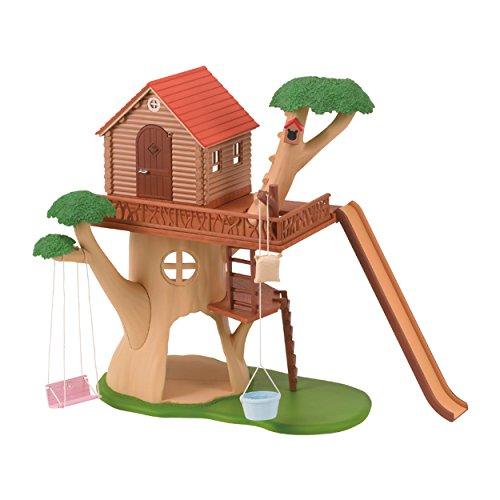 SYLVANIAN FAMILIES- Tree House Mini muñecas y Accesorios, (Epoch 4618)