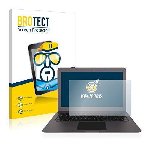 BROTECT Schutzfolie kompatibel mit TrekStor Surfbook W2 klare Bildschirmschutz-Folie