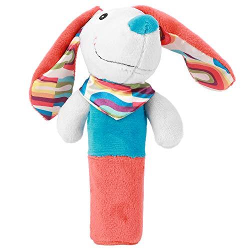 Juguetes de agarre manual para bebés, juguetes para bebés de formas bonitas, respetuosos con el medio ambiente para 3 años + bebé 3 años + bebé(Blue Orange Puppy BB Stick)
